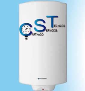 Instalación de calentadores y termos eléctricos por instaladores de gas autorizados. Carthago Servicios Técnicos.