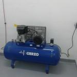 Compresor de baja presión del CIP del Arsenal Militar. carthago Servicios Técnicos.
