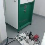 Prueba hidráulica líneas de alta presión. carthago Servicios Técnicos.